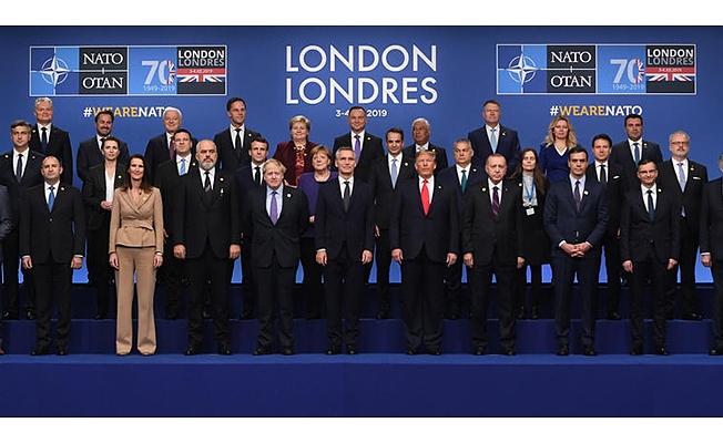 NATO Zirvesi Londra'da başladı