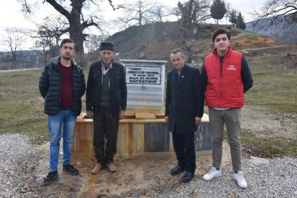 Bursa'nın taşından toprağından maden suyu fıskırıyor!