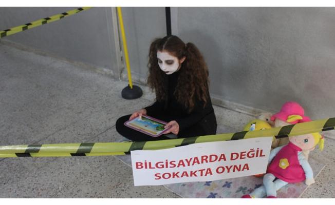Bursa'da dikkat çeken görüntüler!
