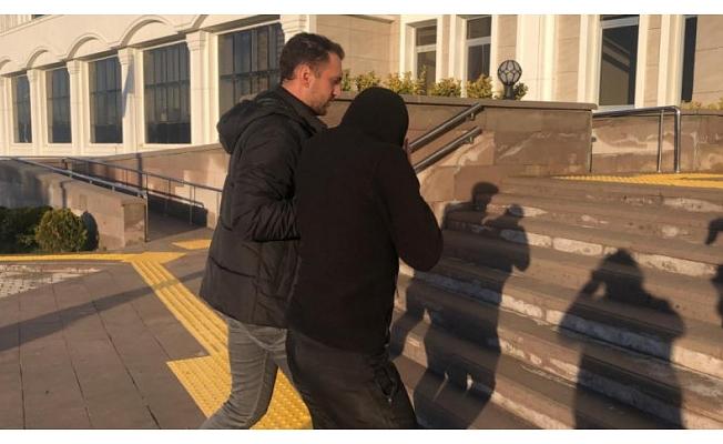 Bursa'da korku salan zanlı yakalandı