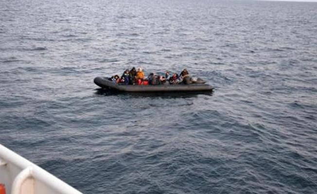 Enez'de 31 kaçak göçmen yakalandı