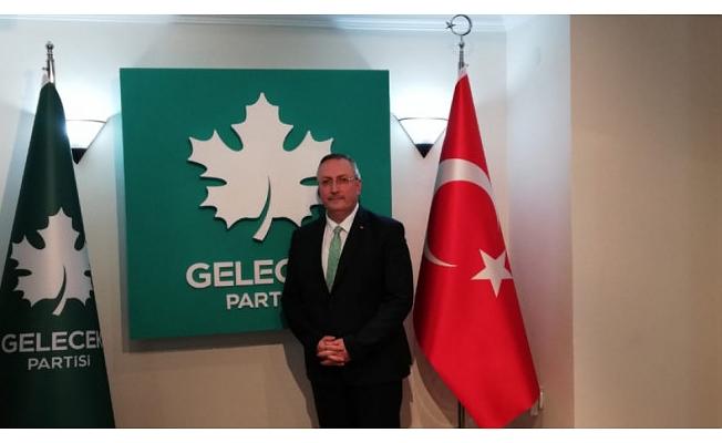 Gelecek Partisi'nin Bursa il Başkanı belli oldu