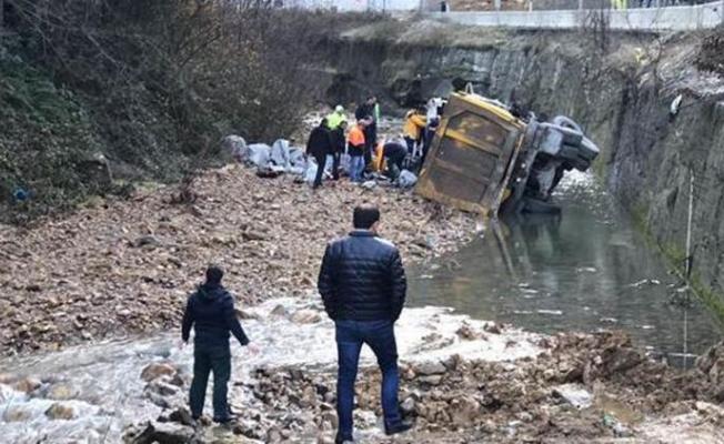 Zonguldak'ta kaza