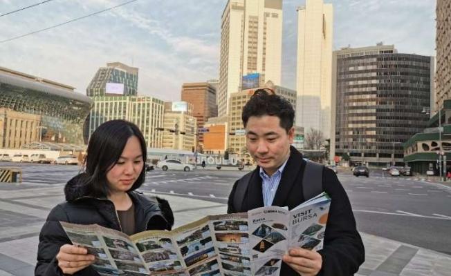 Bursa Güney Koreli turizmcilerin ilgi odağı oldu