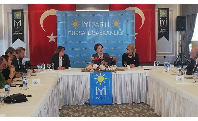 Meral Akşener, Bursa'nın en temel üç sorununu açıkladı!