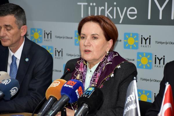 Meral Akşener Bursa'da