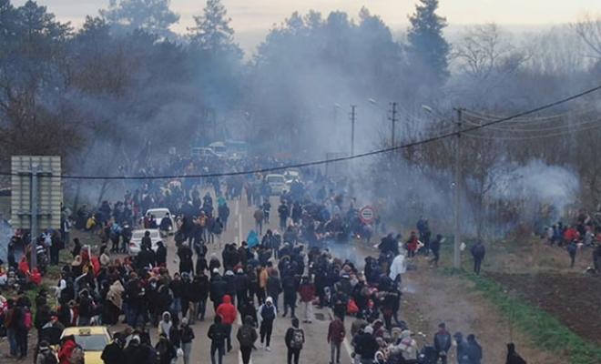 Bakan Soylu, Yunanistan'a geçen göçmen sayısını açıkladı