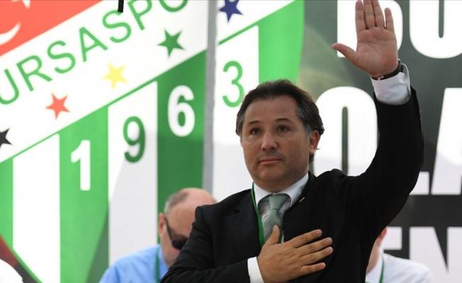 Bursaspor Başkanı'ndan açıklama