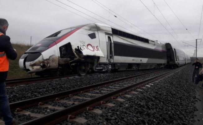Fransa'da feci tren kazası