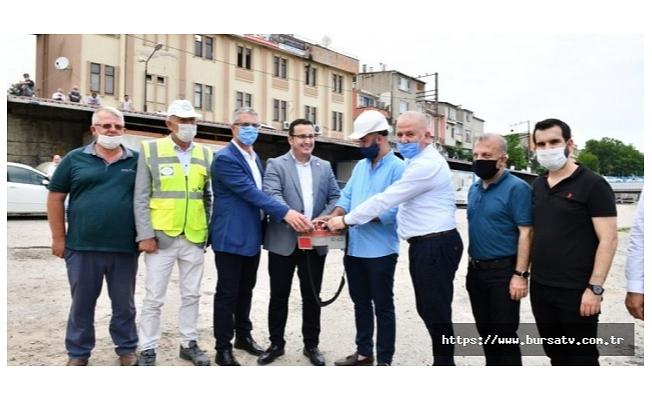 Bursa'da tarihi proje başladı