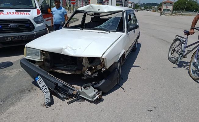 Bursa'da Trafik Kazası