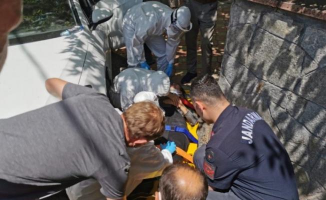 Bursa'da Otomobil ile Duvar Arasında Sıkışan Kadın Yaralandı