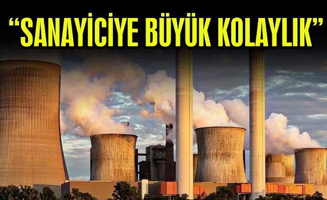 """""""SANAYİCİYE BÜYÜK KOLAYLIK"""""""
