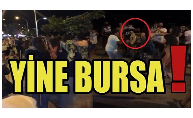 Bursa'da korona yine unutuldu