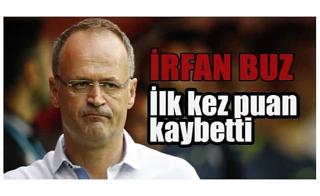 Bursaspor, İrfan Buz ile ilk puanını kaybetti