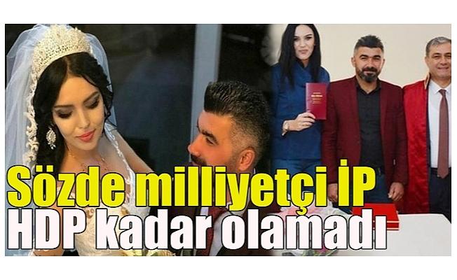Sözde milliyetçi İP HDP kadar olamadı