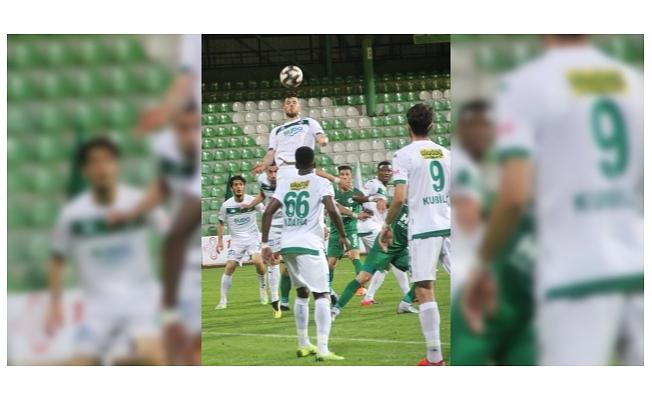 Bursaspor Süper Lig iddiasını kuvvetlendirdi