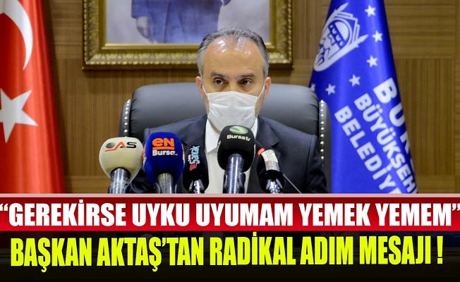 Bursa Büyükşehir Belediye Başkanı Aktaş: Birlikte güzel işler yapacağız