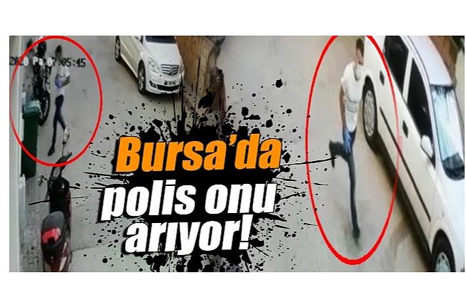 Bursa'da soydukları evden koşarak kaçtılar!