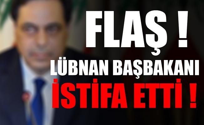 Lübnan Başabakanı istifa etti !
