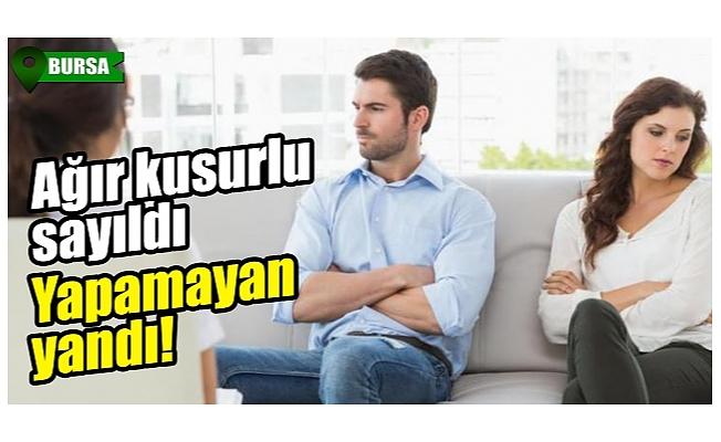 Yargıtay'dan Bursa'da emsal karar! Eşi ve ailesi arasında dengeyi koruyamamak boşanma sebebi