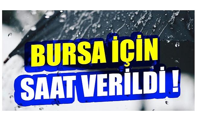 Bursa'da bugün ve yarın hava durumu nasıl olacak? (14 Eylül 2020 Pazartesi