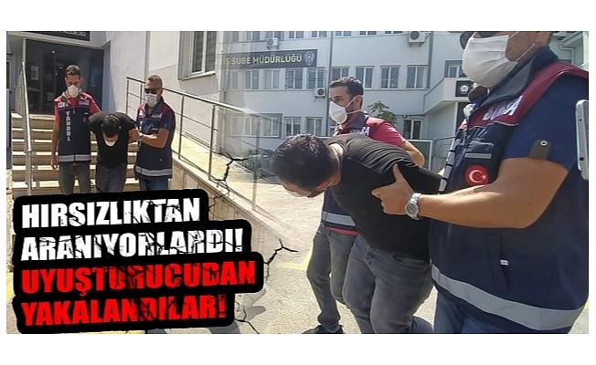Bursa'da oto hırsızları uyuşturucuyla yakalandı
