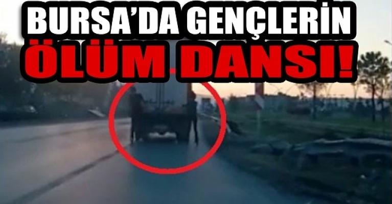 Bursa'da patenli gençler ölüme davetiye çıkardı
