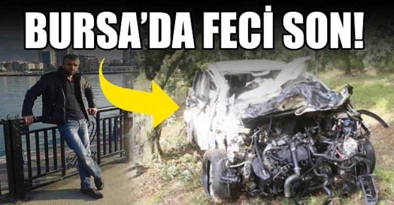 Bursa'da tarlaya uçan otomobilin sürücüsü hayatını kaybetti!