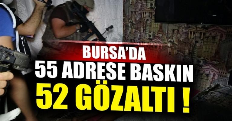 Bursa'daki dev uyuşturucu operasyonunun bilançosu