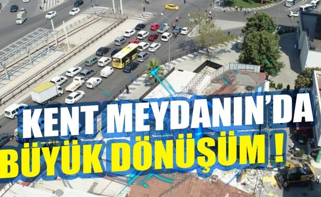 Bursa Kent Meydanı'nda büyük dönüşüm