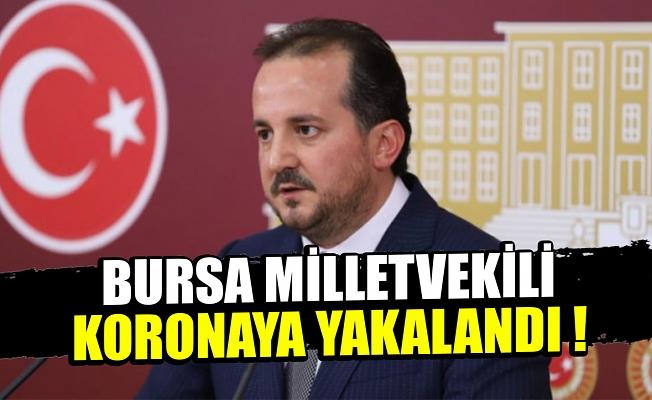 AK Parti Bursa Milletvekili Refik Özen koronavirüse yakalandı