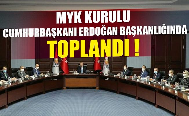 AK Parti Merkez Yürütme Kurulu (MYK) toplandı