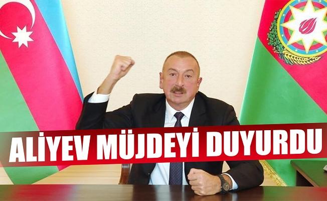 Aliyev açıkladı! 1 kasaba, 48 köy işgalden kurtarıldı