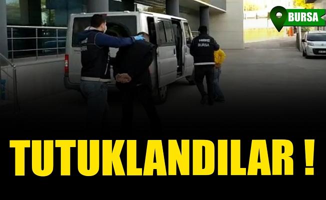 Bursa'da uyuşturucu operasyonlarında 9 tutuklama