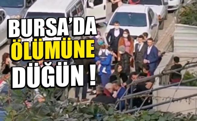 Bursa'da kısıtlama arası ölümüne düğün