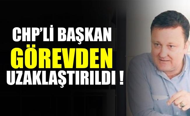 CHP'li Menemen Belediye Başkanı Serdar Aksoy görevden uzaklaştırıldı.