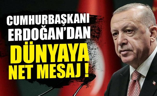 Cumhurbaşkanı Erdoğan: Mücadelemizi kararlılıkla sürdüreceğiz