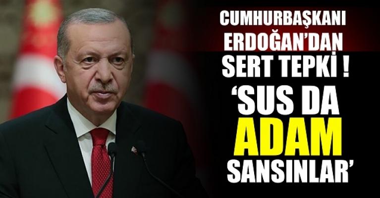 Cumhurbaşkanı Erdoğan'dan Kılıçdaroğlu'na çok sert deprem tepkisi: Sus da adam sansınlar