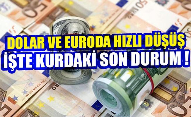 Dolar ve euroda hızlı düşüş! İşte kurdaki son durum