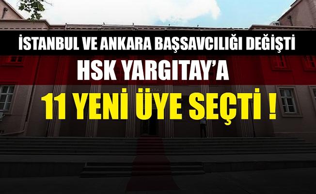 HSK Yargıtay'a 11 yeni üye seçti !