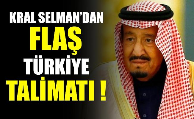 Kral Selman'dan Türkiye talimatı