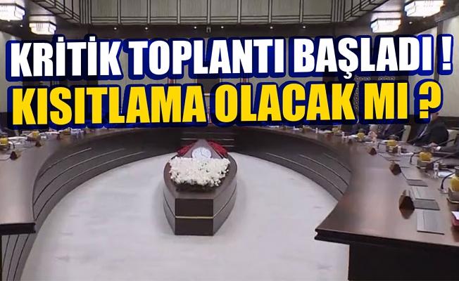 Kritik Kabine Başkan Erdoğan liderliğinde toplandı! Kabinenin gündeminde hangi başlıklar var