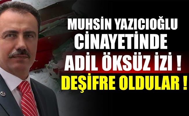 Muhsin Yazıcıoğlu suikastında önemli gelişme.