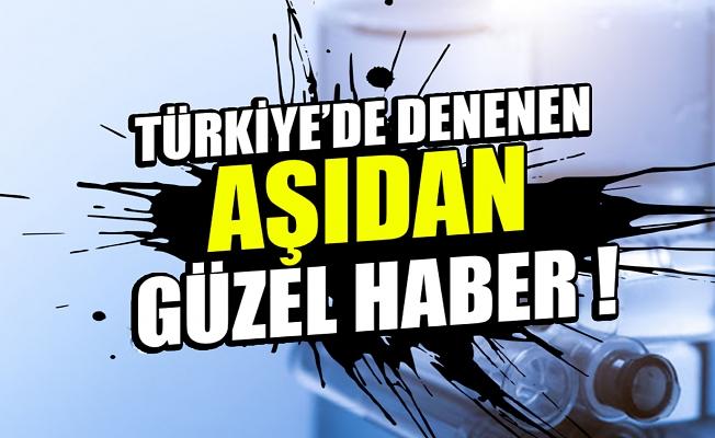 Türkiye'de denenen aşıdan umutlandıran haber: 3 yıl bozulmuyor