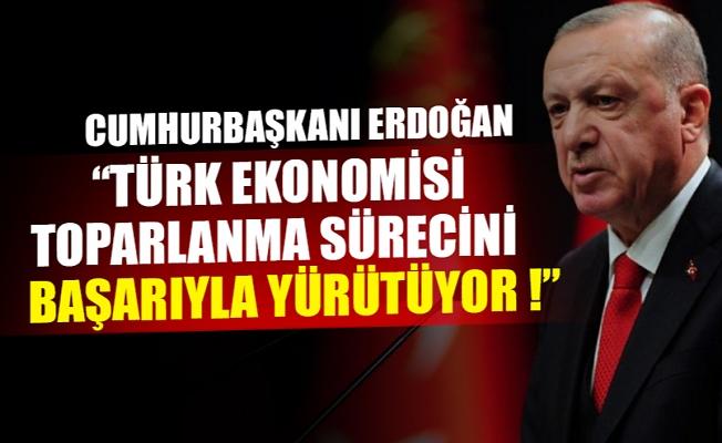 Cumhurbaşkanı Erdoğan Uluslararası Yatırım Zirvesi'ne videolu mesaj gönderdi !