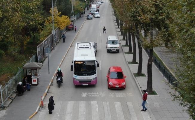 Kastamonu'da yayalara yol vermeyen 418 kişiye ceza kesildi