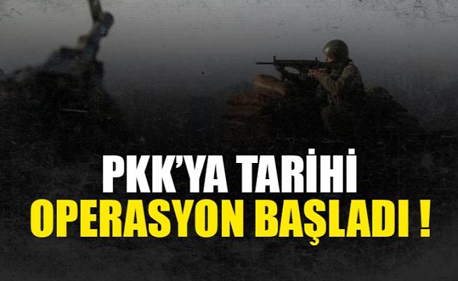 PKK'yı Sincar'dan çıkarma operasyonu başladı.