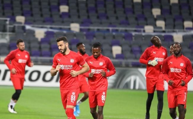 Sivasspor, Maccabi Tel Aviv maçına hazır