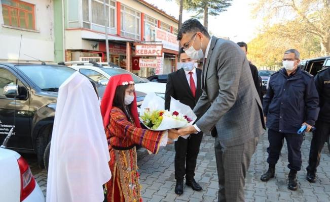 Vali Ali Çelik'ten Şaphane ziyareti